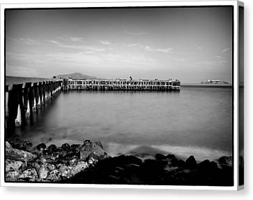 Alcatraz From Fort Point Canvas Print by Tanya Harrison