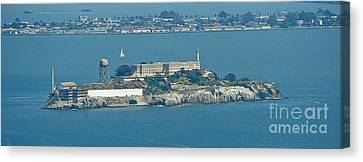Alcatraz In April Canvas Print by Suze Taylor