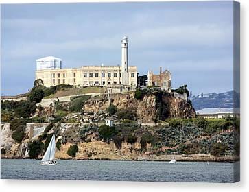 Alcatraz Island Canvas Print by Luiz Felipe Castro