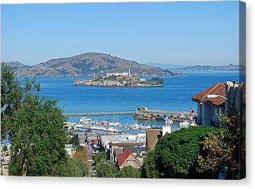Alcatraz Island Canvas Print by Twenty Two North Photography