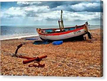 Aldeburgh Fishing Boat Canvas Print