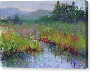 Alder Meadow Morning Canvas Print
