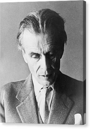 Aldous Huxley 1894-1963 English Author Canvas Print by Everett