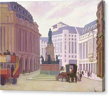Aldwych  Canvas Print by Robert Polhill Bevan