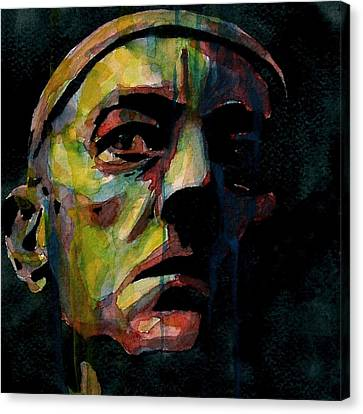 Framed Canvas Print - Alec Guinness by Paul Lovering