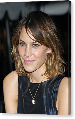 Alexa Chung At Arrivals For Special Canvas Print