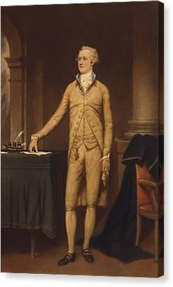Alexander Hamilton 1757-1804 . He Canvas Print by Everett
