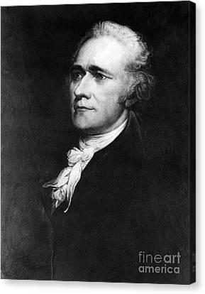 Alexander Hamilton, American Patriot Canvas Print by Omikron