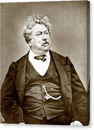 Alexandre Dumas Père 1802-1870 Popular Canvas Print by Everett