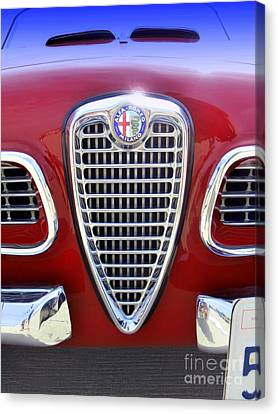 Alfa Romeo Canvas Print by Karyn Robinson