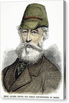 Alfred Krupp (1812-1887) Canvas Print by Granger