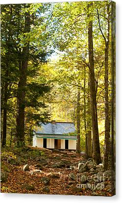 Alfred Reagan House Canvas Print by Lena Auxier