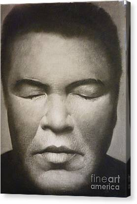 Ali  Canvas Print by Adrian Pickett Jr