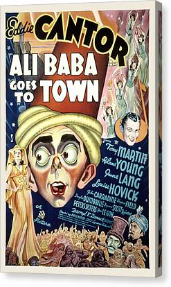 Ali Baba Goes To Town, Eddie Cantor Canvas Print by Everett