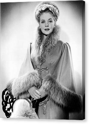 Publicity Shot Canvas Print - Alice Faye, Ca. Early 1940s by Everett