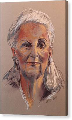 Alice Canvas Print by Peggy Wrobleski