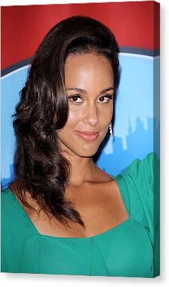Alicia Keys Inside For Alicia Keys Wax Canvas Print
