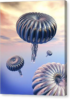 Alien Life Canvas Print by Victor Habbick Visions