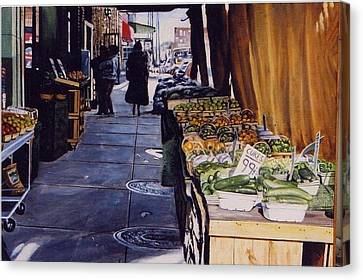 Alioto's Produce Canvas Print