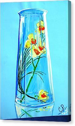 Alive Flowers Canvas Print by Sonya Ragyovska