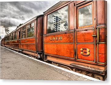 All Aboard Canvas Print by Adrian Evans