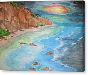 All Is Calm - Wcs Canvas Print by Cheryl Pettigrew