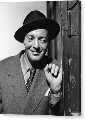 All Through The Night, Peter Lorre, 1942 Canvas Print