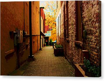 Alley Arcade  Canvas Print