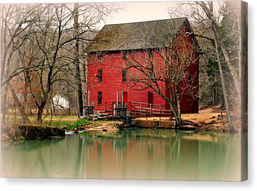 Alley Mill 4 Canvas Print by Marty Koch