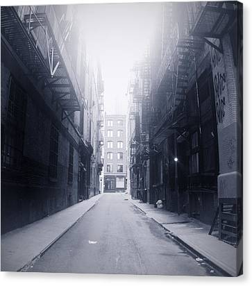 Alleyway Canvas Print by William Andrew