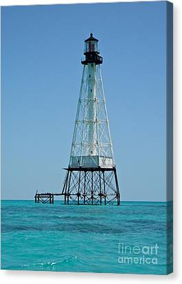 Alligator Lighthouse Canvas Print