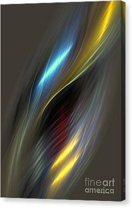 Alluring Colors Canvas Print