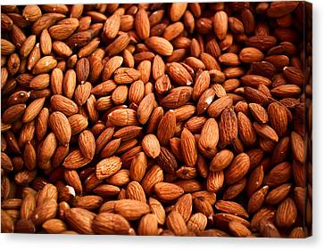 Almonds Canvas Print by Tanya Harrison