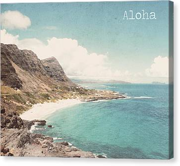 Aloha Canvas Print by Nastasia Cook
