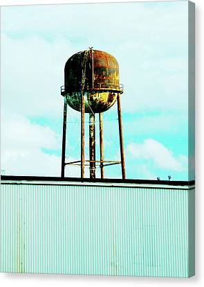 Canvas Print featuring the photograph Along Highway 61 by Lizi Beard-Ward