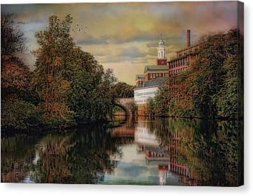 Along The Blackstone River Canvas Print