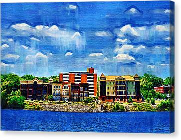 Along The Tennessee River In Decatur Alabama Canvas Print