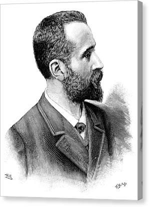 Alphonse Bertillon, French Police Officer Canvas Print by