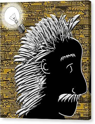 Al's Bright Idea Canvas Print