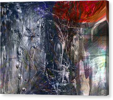 Altered Second Movements Canvas Print by Linda Sannuti