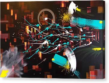Alternative Consciousness Canvas Print by Stephen P ODonnell Sr