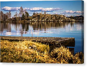 Canvas Print featuring the photograph Always Something In A Way by Matti Ollikainen