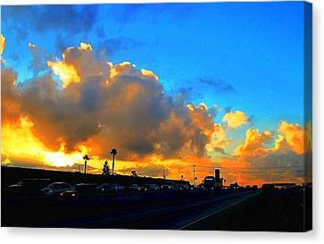 Am 405 South Canvas Print