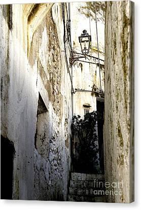 Amalfi Street Canvas Print by Tanya  Searcy
