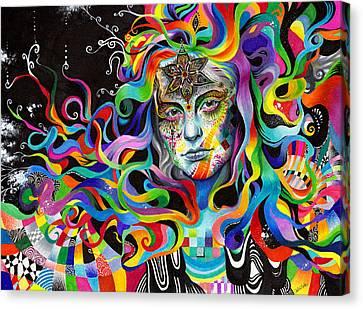 Amalgamation Canvas Print by Callie Fink