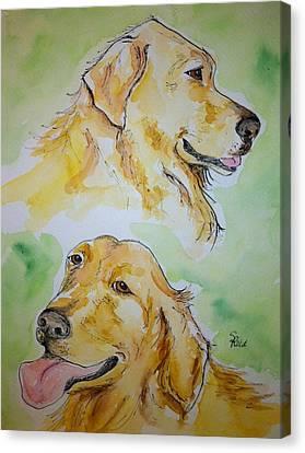 Amber N Sadie Canvas Print