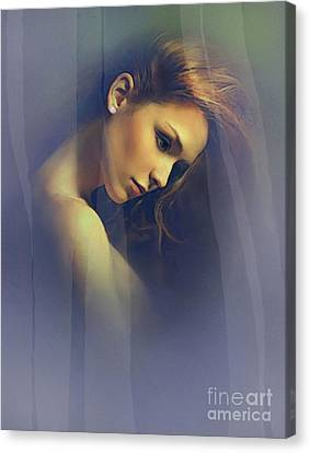Amber Canvas Print by Robert Foster