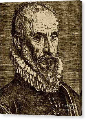 Ambroise Paré, French Surgeon Canvas Print by Science Source