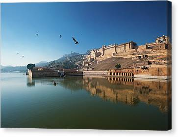Amer Fort Canvas Print by Www.igorlaptev.com