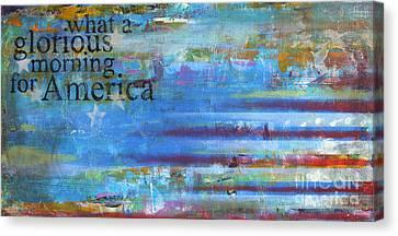 America Canvas Print by Sean Hagan